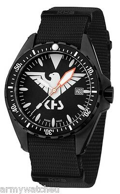 KHS Tactical Watches Mission Timer Eagle One C1-Lighting German Army KHS.MTE.NB
