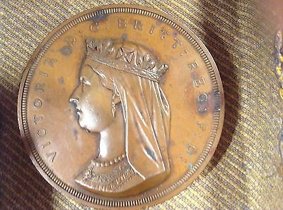 Rare & Historic Canadian Table Medal / Coin - 1867 Confederation Commemorative