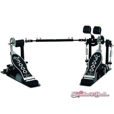 DW DWCP3002 3000 Series Double Bass Drum Pedal w/ Dual Chain Turbo Drive