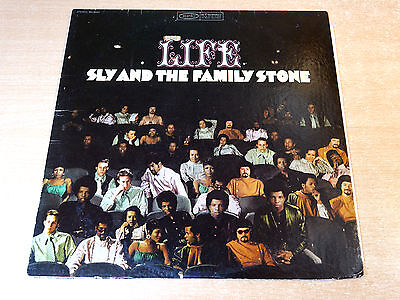 EX/EX- !! Sly & The Family Stone/Life/1968 Epic LP