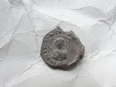 Byzantine Lead Seal Stamp 002