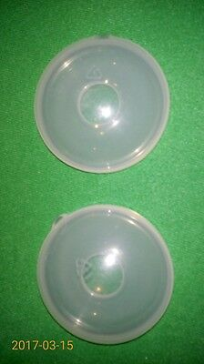 Set Of 2 Breast / Nipple Shells For Breastfeeding / Milk Collection