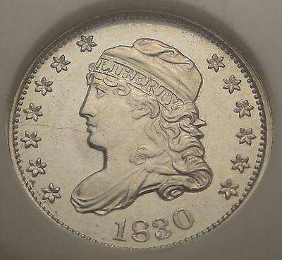 NGC MS62 1830 Capped Bust Half Dime Great UNC BU H10c Type Coin