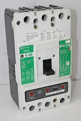 Cutler-Hammer Ki400 3-Pole 300A Circuit Breaker w/ KT3300T Thermal Magnetic Trip