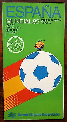 World Cup Spain 1982 official tourist guide - RARE