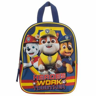 Paw Patrol Toddler Backpack Cute Small School Bookbag Preschool Little Boys Kids