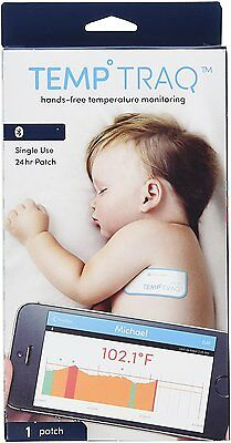 Temp Traq Bluetooth 24 hr Patch hands-free temperature monitoring Exp 06/17