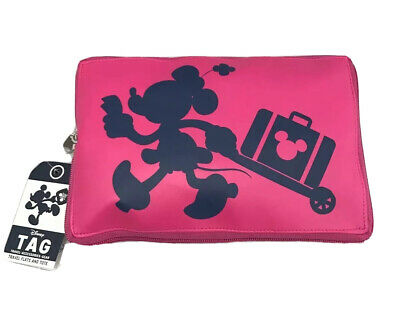 Disney Parks TAG Travel collection Minnie Mouse Travel Flats & Tote SMALL - NEW