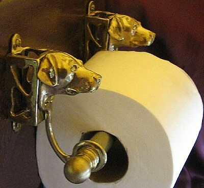 LABRADOR RETRIEVER, LAB Toilet Paper Holder OR Paper Towel Holder!