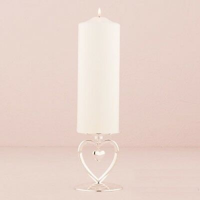 Suspended Heart Unity Candle Holder Wedding Ceremony