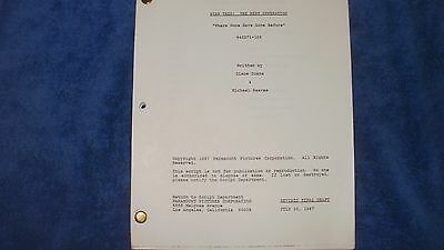 Star Trek The Next Generation Script - Patrick Stewart Levar Burton Brent Spiner
