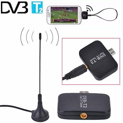 DVB-T2 Receptor Micro USB Tuner Mobile TV Receiver Stick For Android Tablet HM