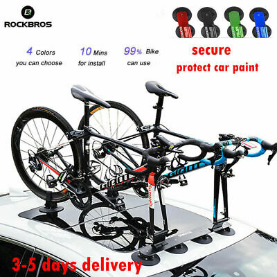 Rockbros Suction Roof-top Bicycle Rack Carrier Quick Installation Roof Rack UK