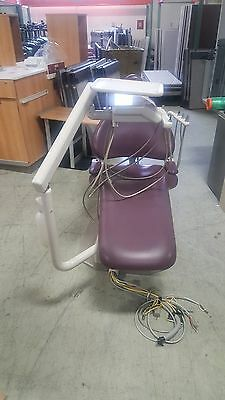 Adec 1040 Dental Chair with radius delivery system  and back vac sysstem #2
