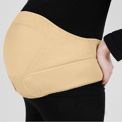 New Pregnancy Maternity Special Support Belt back bump Belly Waist Baby Str B4L0