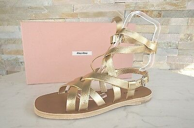 f922a87bd2ba SANDALEN MIU MIU made in Italy Jeans Modell 764 36