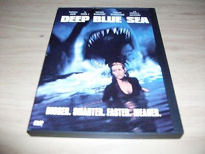 Horror Movie: Deep Blue Sea! Used & In Excellent Condition!!!! Thomas Jane!!