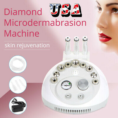 US Ship Diamond Microdermabrasion Dermabrasion Peeling Machine Facial Skin Care