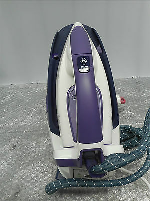Tefal Express 2400W Compact Steam Iron Station GV7630 Ultragliss Soleplate