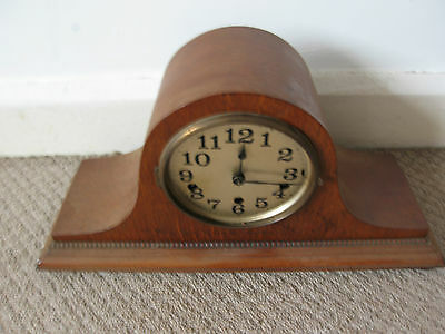 German Platform Balance Westminster Chimes 8 Day Mantel Clock Working