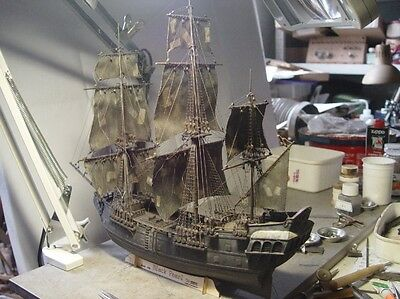 Hobby Black Pearl Scale 1/96 413 mm Wooden Model Kits Boat Kits With Figurehead