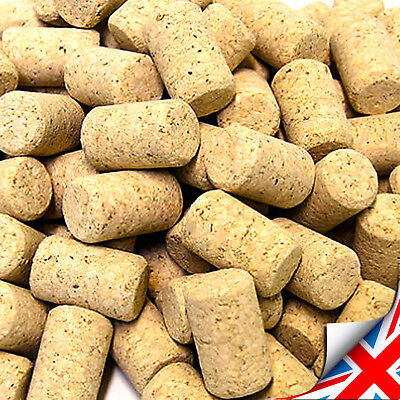 Natural Straight corks 22x 38mm for standard wine bottle HIGH QUALITY UK  (+NC)