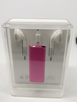 NEW Apple iPod shuffle 3rd Gen. (Late 2009) Pink (2GB) APPLE COLLECTORS ITEM