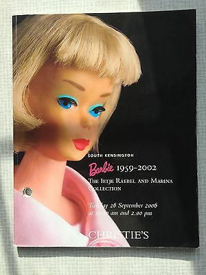 CHRISTIES 2006 BARBIE DOLL 1959 to 2002 AUCTION CATALOGUE