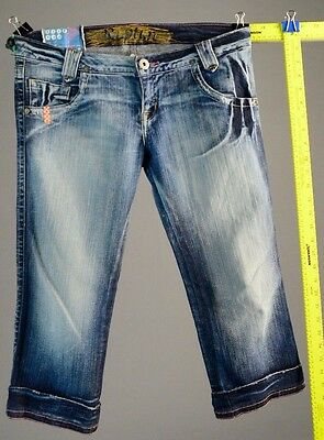 """Girl's jeans size 12 by Rupture 29"""" waist Capri length"""
