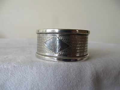 SOLID SILVER  GEORGE V  NAPKIN RING. HENRY GRIFFITH. BIRM. 1936, 12.7g