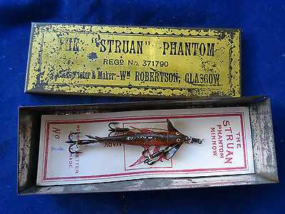 "Scarce Carded William Robertson The ""struan"" Phantom In Rare Original Tin"