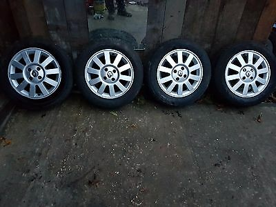 Renault Megane / Scenic 15'' Alloy Wheels and Tyres
