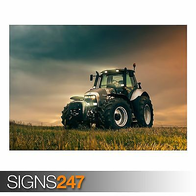 R8 TRACTOR (AC002) POSTER - Photo Poster Print Art * All Sizes