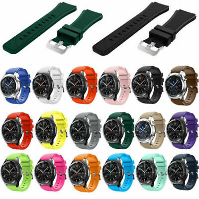 US Silicone Bracelet Strap Watch Band For Samsung Gear S3 Frontier/Classic 22mm