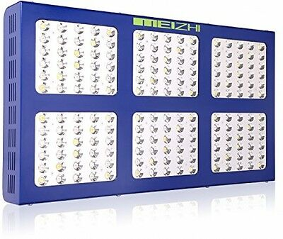 MEIZHI Reflector Series 900W LED Grow Light Switchable Daisy Chain Full For Veg