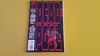 Deadpool The Circle Chase #1 min-series x-men wolverine marvel comics