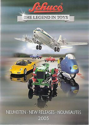 "Schuco The Legend In Toys ""New Releases"" Catalogue 2005 - 39 Pages Full Colour"
