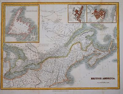 Canada - British America By Blackie & Son Circa 1850