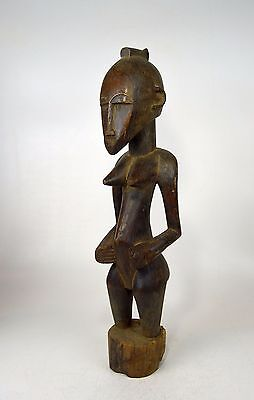 A Very Fine Old Senufo female ancestor sculpture Fine African Art