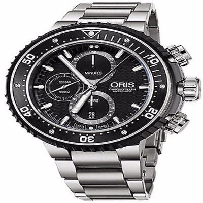 Oris Pro Diver Chronograph 51 mm Men's Watch Model 01 774 7727 7154-Set