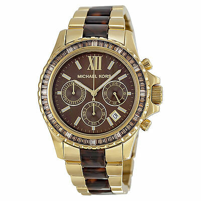 Michael Kors Mk5873 Glitz and Glamour Chronograph Watch