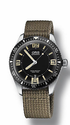ORIS 0173377074064-0752022 Mens Divers SIXTY-FIVE Swiss Made Watch