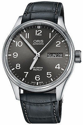 Oris Big Crown Pro Pilot Day Date 45 mm Men's Watch 01 752 7698 4063-07 5 22 06F