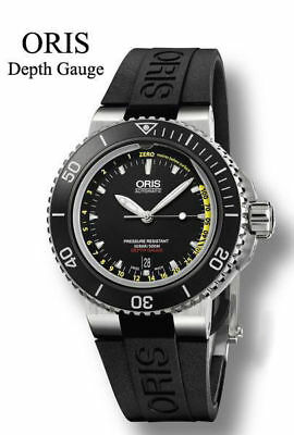 Oris 0173376754154-Set Depth Gauge Men's Watch
