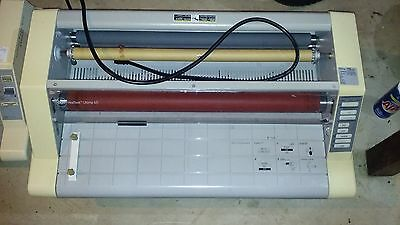 "GBC Heat Seal Ultima 65 27"" Hot Roll Laminator Laminating Machine"