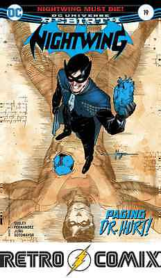 Dc Rebirth Nightwing #19 First Print New/unread Bagged & Boarded