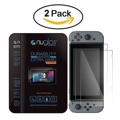 Tempered glass Screen Protector  for Nintendo Switch Console (2 Pack)