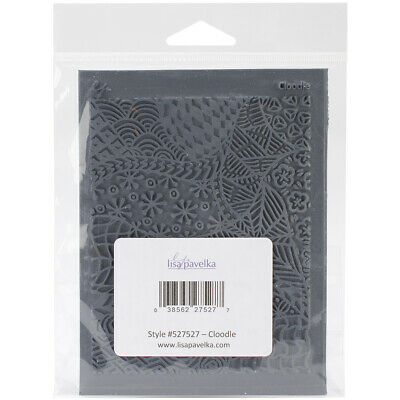 """Great Create Lisa Pavelka Individual Texture Stamp 4.25""""X5.5""""-Cloodle"""