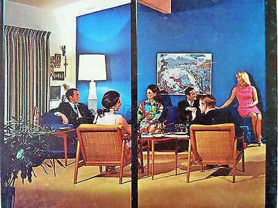 Mid Century Modern Book Decor Guide To Entertaining