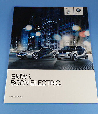 2012 BMW i Born Electric - Sales brochure introducing the i3 & i8 electric cars